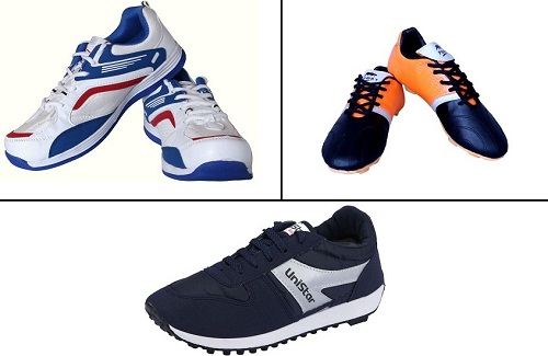 Cricket, Football & Running Shoes