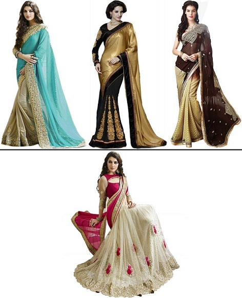 6f22b7efb3 13 Beautiful Designer Sarees That Look High-End But Aren't - Latest Fashion  Trends   Fashion Tips   Online Shopping Fashion India
