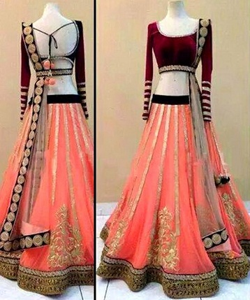 53bdc49f03 These 4 Stunning Wedding Lehengas Under Rs 1000 Will Make Your Jaw Drop -  Latest Fashion Trends | Fashion Tips | Online Shopping Fashion India