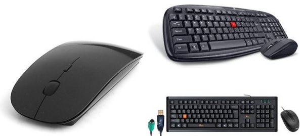 Keyboard and Mouse Combos at Attractive Prices