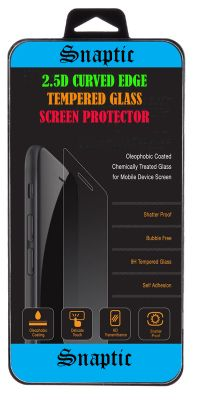Snaptic Curved Edge HD Tempered Glass For Smartphone