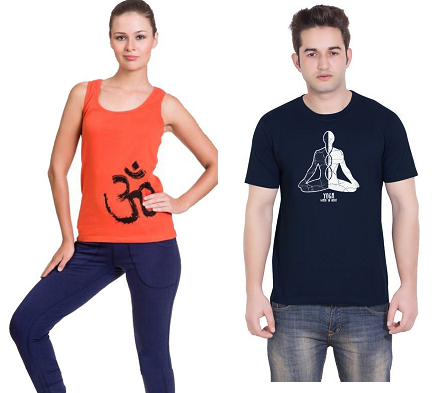 Yoga Tees For Men And Women
