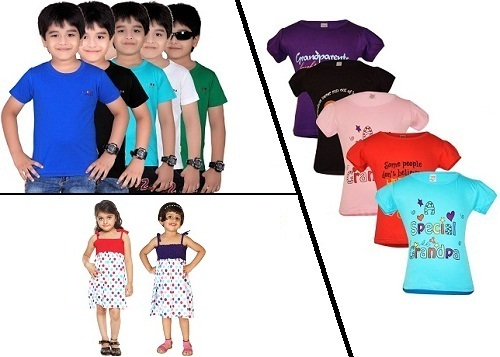 T shirt and dress combos