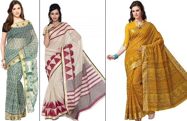 how to wear cotton saree to look slim