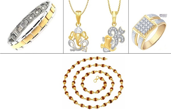 Jewellery pieces for men