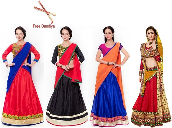 5 Really Pretty Outfit Ideas For Navratri 2016 Latest