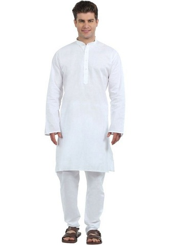 White Kurta Pajama Set