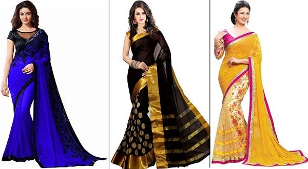 c711323e14 4 Stunningly Beautiful Sarees for This Festive Season - Latest Fashion  Trends | Fashion Tips | Online Shopping Fashion India