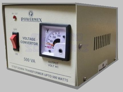 Voltage Converter 500 Watt Transformer Based Step Down 220v To 110v