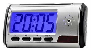 Spy digital alarm clock