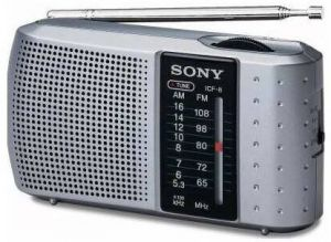 Sony ICF-8 (ICF8) Portable AM/FM Transistor Radio Speaker