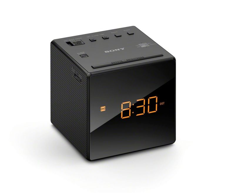 Multi Tasker Radio Alarm Clock LCD Display