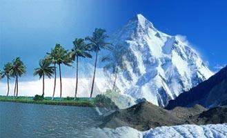 Kerala and the Himalayas