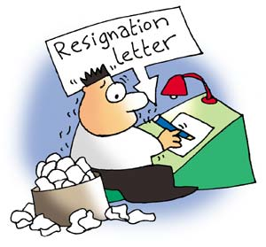 Be careful how you draft your resignation letter.
