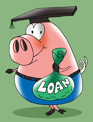Ease on education loan rates