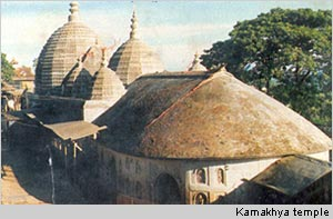 The kamakhya Templs