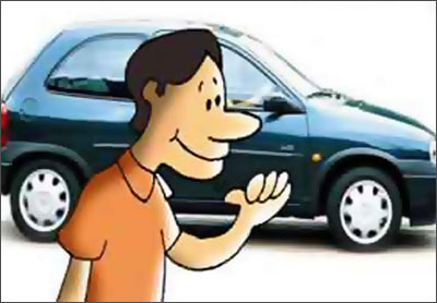 You may be tempted to help someone asking for directions but don't go too close to the car
