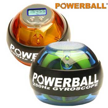Now, a powerball to get muscle tone without workou ...