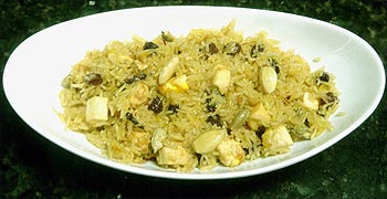 Syuna Pulav (Meat Pilaf)