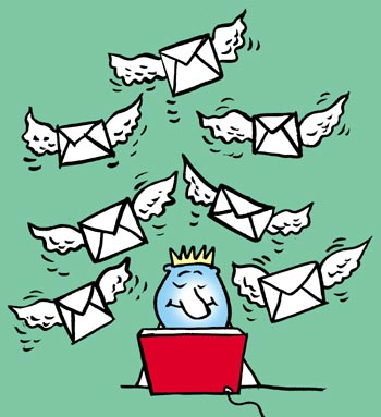 4. Avoid mass emailing