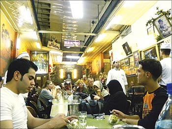 Cafe culture is gaining popularity