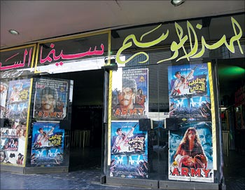 Syrian theatres all offer Arab as well as Hindi films