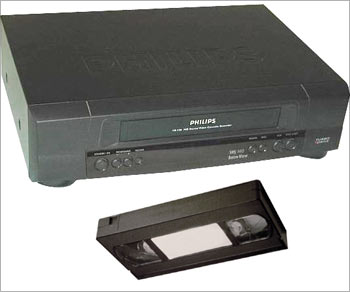 Video cassette and player