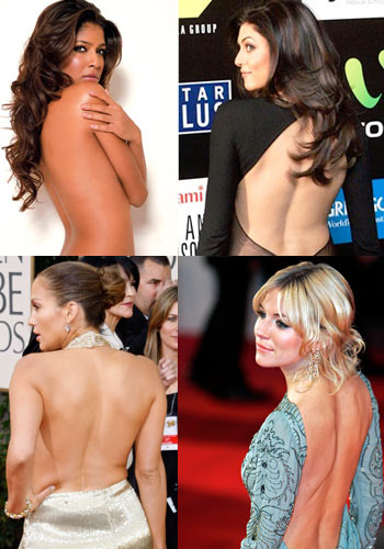 Show off a sexy back like these hot celebs!