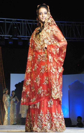 The latest trend: Indo-Western bridal styles