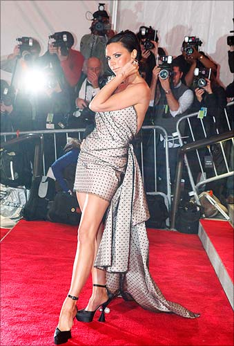 Posh Spice has developed painful bunions on her feet -- but still won't give up the six-inch stilettos