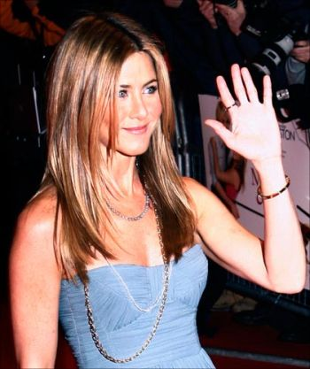For Jennifer Aniston's glowing mane, regular care and grooming is required