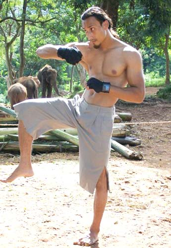 Take up a new workout, like kickboxing for instance