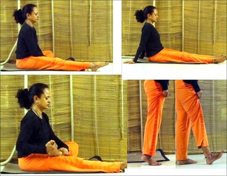Strengthen your ankles with yoga