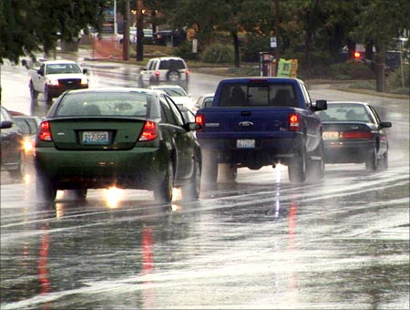 Six tips for safe monsoon driving