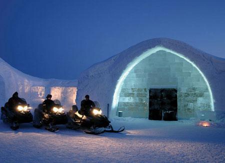 Icehotel, Jukkasjarvi, Sweden