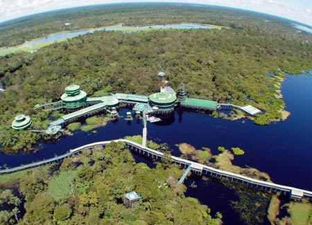 Ariau Towers Hotel, The Amazon, Brazil