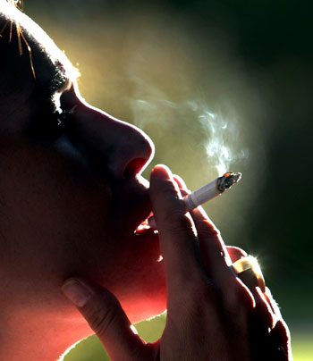 Consumption of tobacco and smoking leads to oral cancer