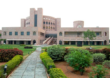 The ISB campus, Hyderabad