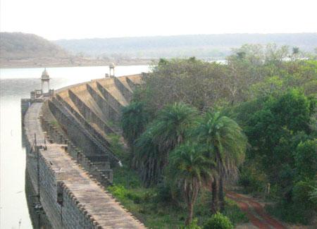 Sakhya Sagar Dam, Shivpuri