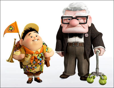 Still from 'Up'. Animation is a great career option as more animated films being made than ever