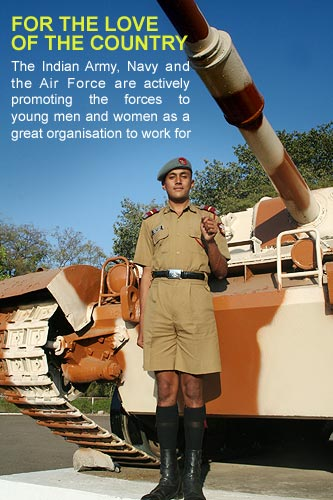 NDA cadet at Khadakvasla, Pune
