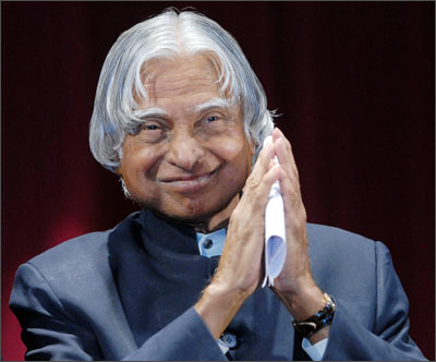 Abdul Kalam used to get average grades in his school, but mathematics was his favourite subject