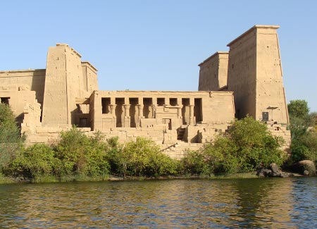 The majestic Philae temple