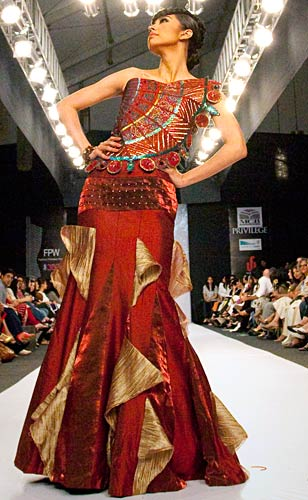 Catwalk action from Pakistan Fashion Week