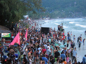 Full moon party, Ko Pha Ngan, Thailand.
