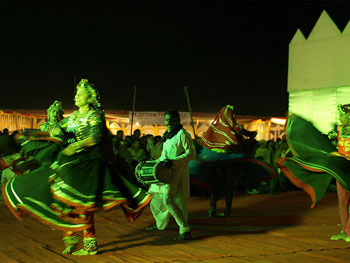 The famour Ghoomar dance