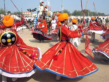 Sushil Mali's dance troupe