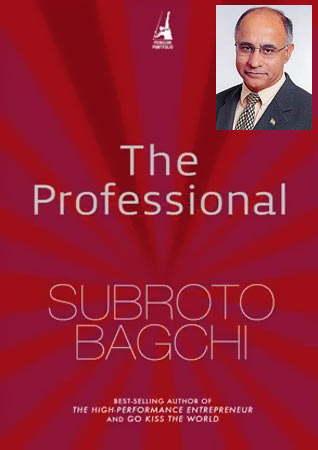 Cover of The Professional; Inset: Subroto Bagchi