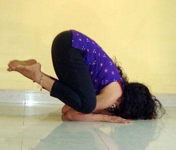 Karandavasana (Duck pose)