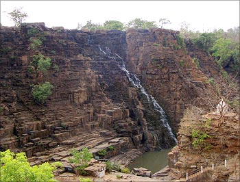 Tirathgarh Falls is a very popular picnic spot